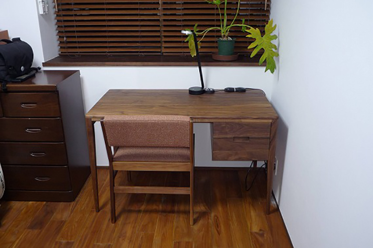 鹿児島県H様のコーディネート ballena chair