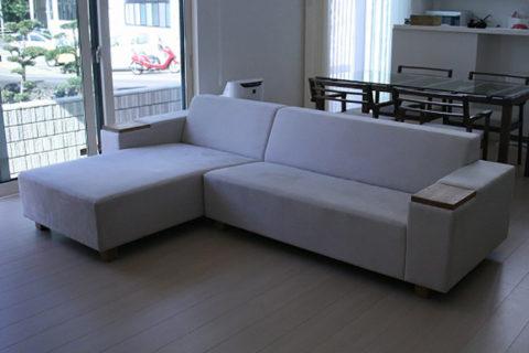 長崎県K様のコーディネート|COMBO corner sofa + barco table + ibiza arm chair
