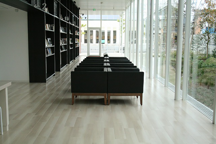 佐賀県Sクリニック様のコーディネート|ripple sofa 2p + cielo sofa 1p