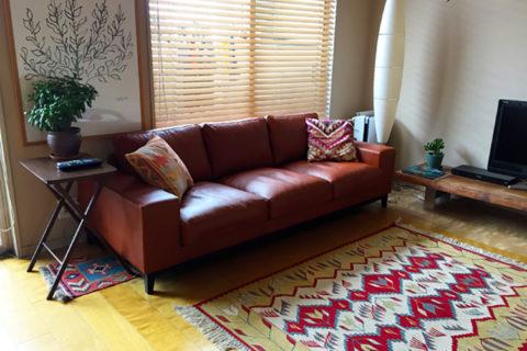 東京都K様のコーディネート FLOW sofa 3p