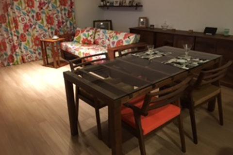 T様のコーディネート|barco table + ibiza arm chair
