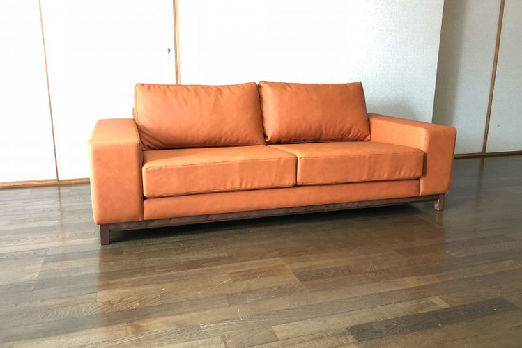 長崎県K様のコーディネート FLOW sofa 2p
