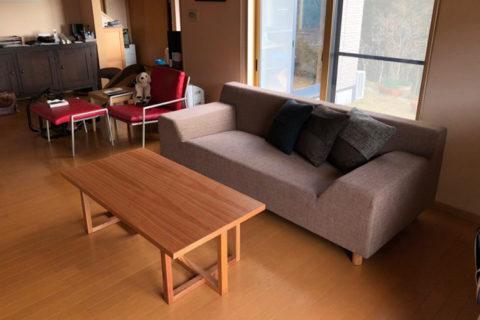 長崎県S様のコーディネート|costa sofa 3p fix + stroke low table