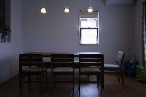 長崎県T様のコーディネート|ballena table + ballena wood back chair + ballena bench