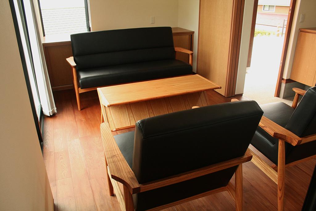 長崎県 K様のコーディネート|ef sofa 2.5p + delta low table