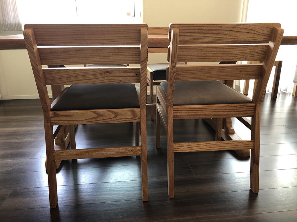 長崎県 N様のコーディネート ballena wood back chair