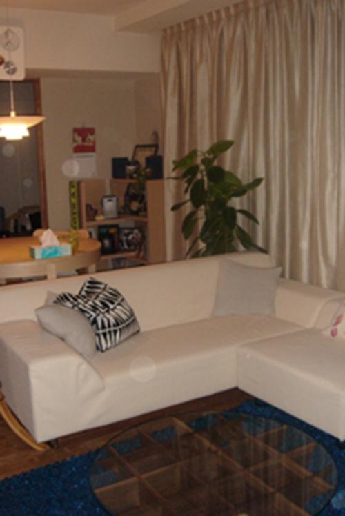 神奈川県 M様のコーディネート|costa sofa 3p fix + costa ottoman + isola low table
