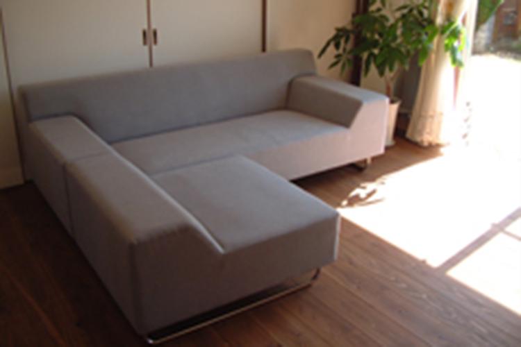 神奈川県T様のコーディネート|costa sofa 3p fix + costa ottoman + ballena bench