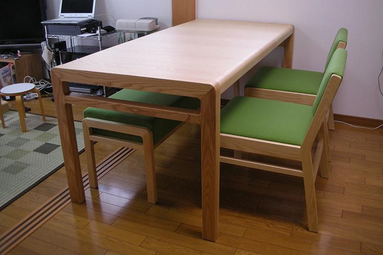 長崎県K様のコーディネート|ballena table 1650 + ballena chair