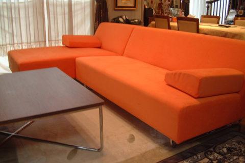 N様のコーディネート|costa armless sofa 2p + costa couch sofa