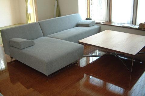 Y様のコーディネート|COMBO corner sofa + ballena table + ballena chair + ballena bench