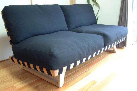 K様のコーディネート balsa sofa 2p