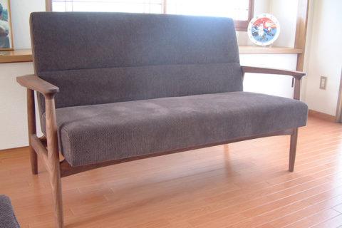 K様のコーディネート|ef sofa 2.5p + ef sofa 1p + ottoman