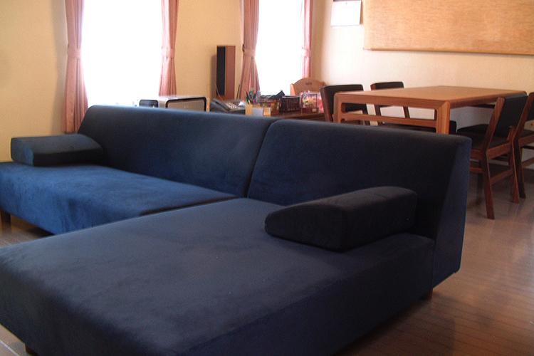T様のコーディネート|COMBO corner sofa + ballena table + ballena chair
