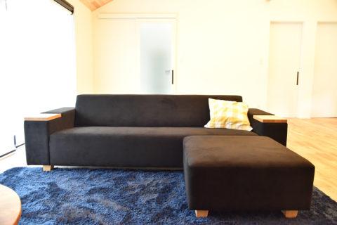 大分県 M様のコーディネート|COMBO sofa 3p + COMBO ottoman + ちゃぶ台900