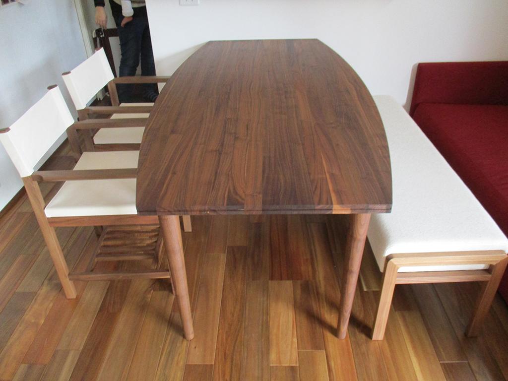 長崎県 T様のコーディネート|bateau table + sail chair + ballena bench