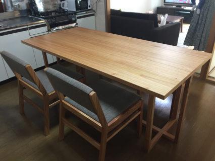 長崎県Y様のコーディネート|stroke table + ballena chair + ballena bench
