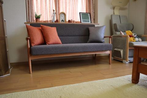 長崎県 Y様のコーディネート|ef sofa 2.5p + ballena bench + ballena chair