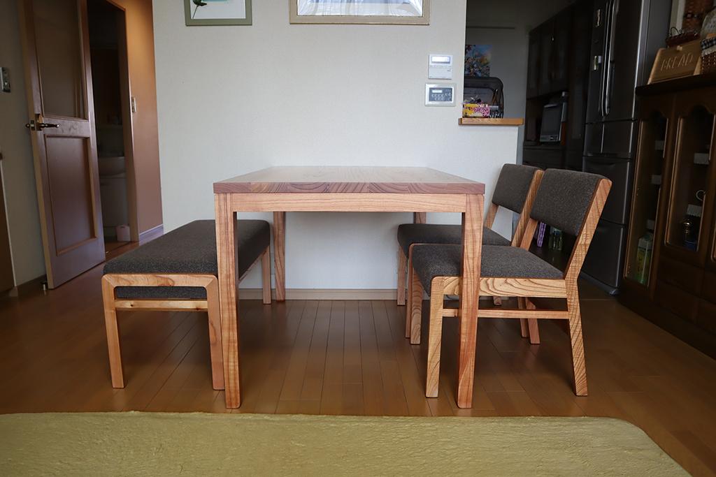 長崎県 Y様のコーディネート ef sofa 2.5p + ballena bench + ballena chair