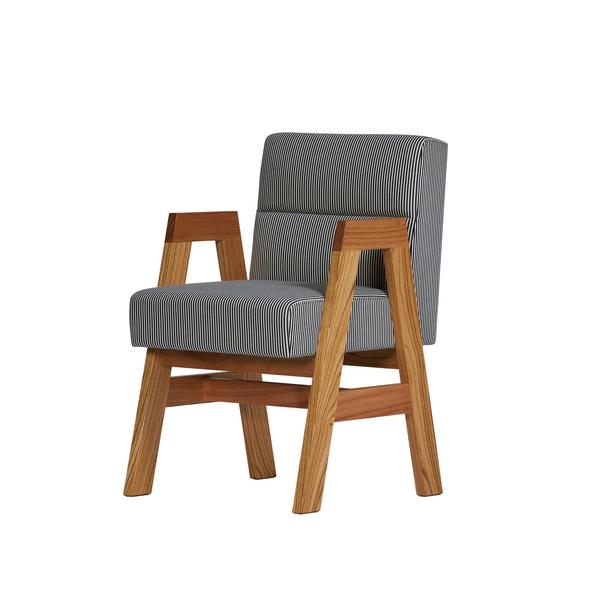 a-frame arm chair