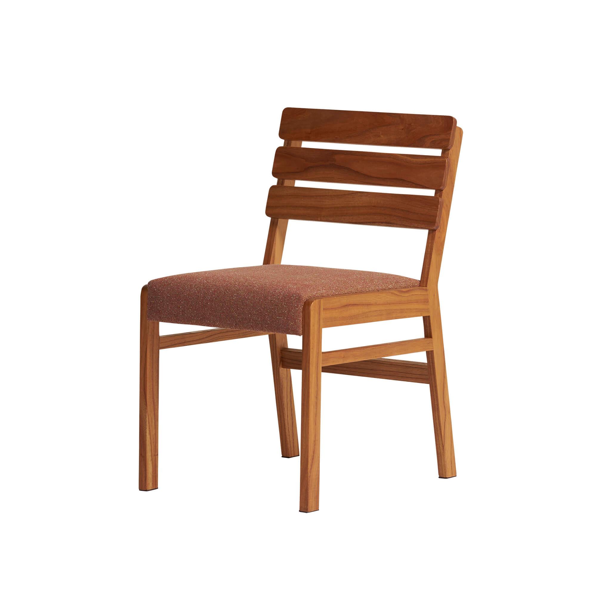 ballena wood back chair