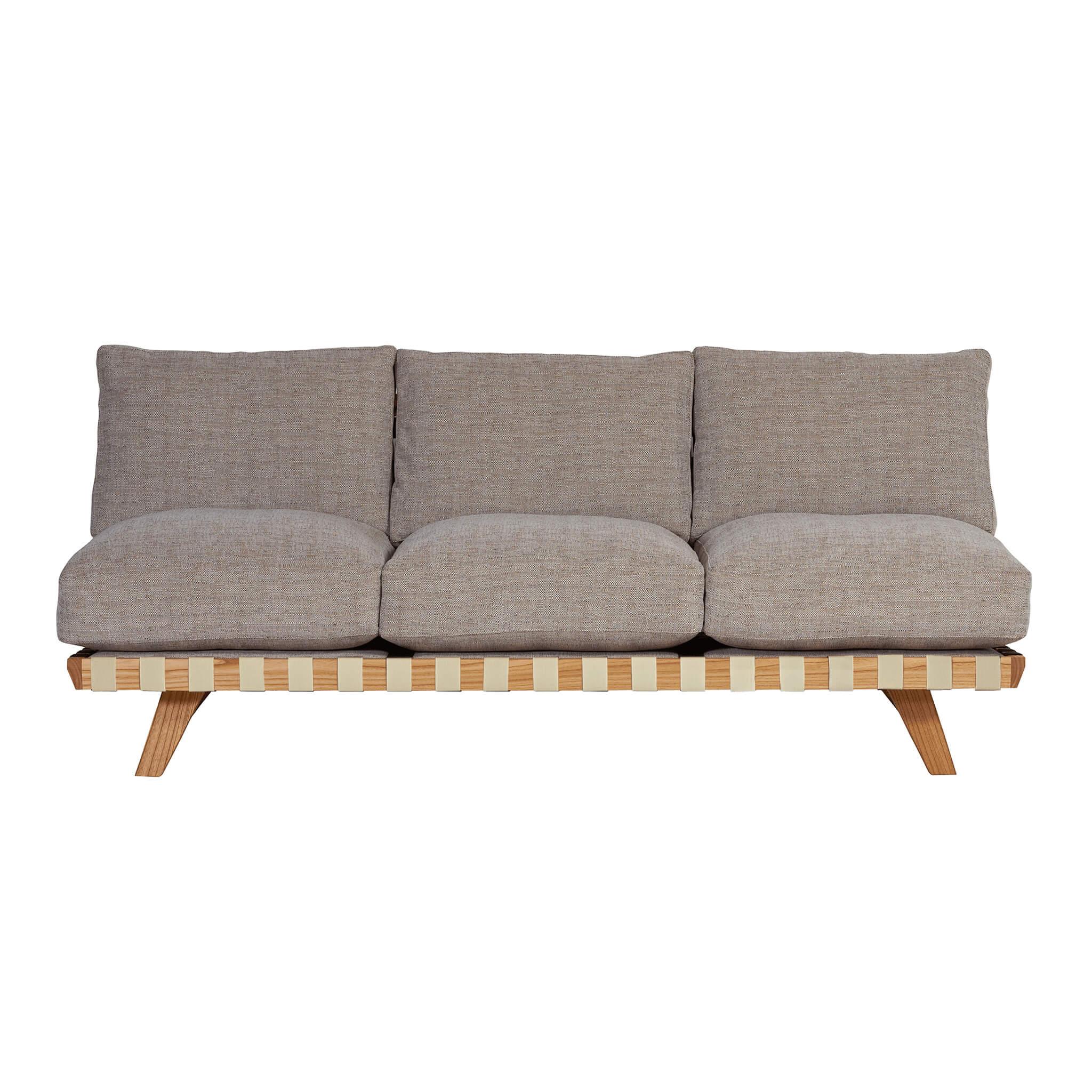balsa sofa 3p ivory