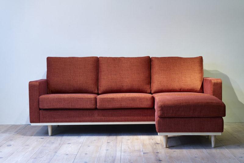 LENTE sofa + ottoman