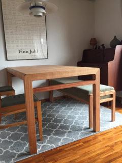A様のコーディネート|ballena table + ballena bench