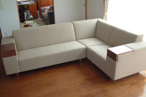 長崎県K様のコーディネート|COMBO corner sofa