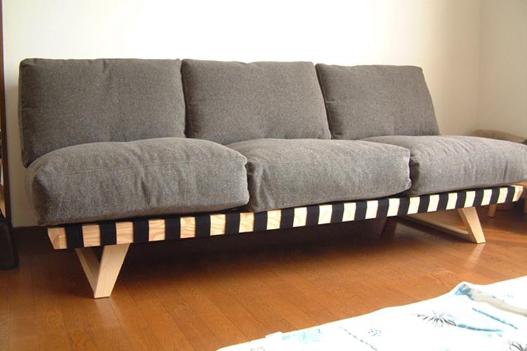 長崎県Y様のコーディネート balsa sofa 3p black