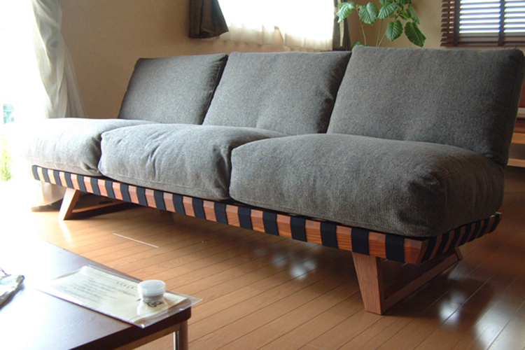 長崎県M様のコーディネート balsa sofa 3p black