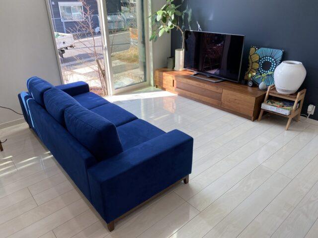 長崎県 E様のコーディネート FLOW sofa 3p