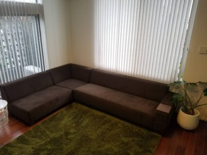 兵庫県 F様のコーディネート|COMBO sofa corner set