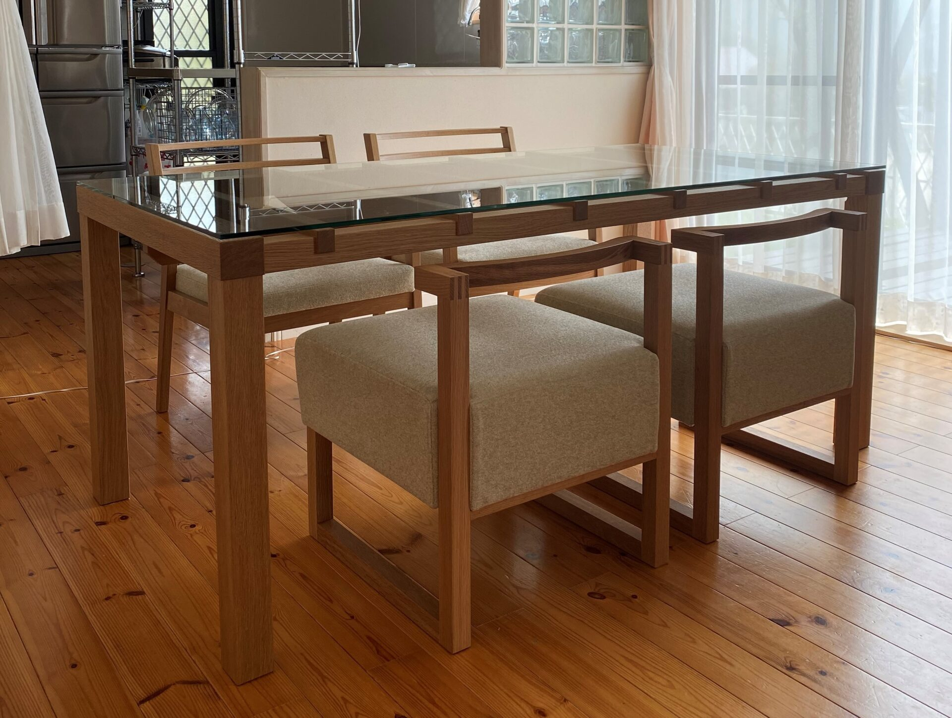 長崎県 J様のコーディネート|barco table + ibiza arm chair + stroke chair