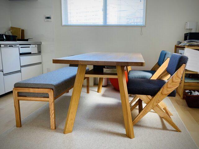 長崎県 N様のコーディネート|rudder chair + ballena bench + isola low table