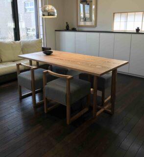 新潟県 U様のコーディネート|stroke chair + stroke dining table