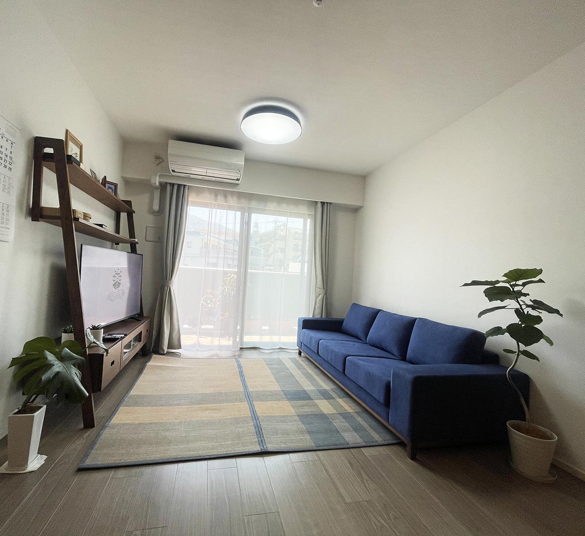 長崎県 S様のコーディネート FLOW sofa 3p