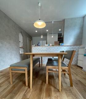 長崎県 M様のコーディネート|surf table + ballena chair + bench