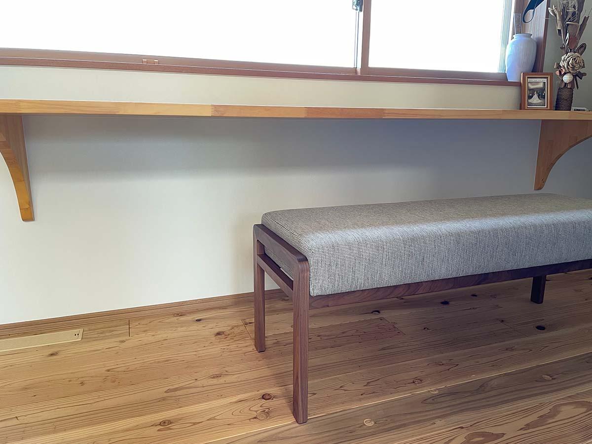 長崎県 M様のコーディネート a-frame arm chair + ballena bench 1200
