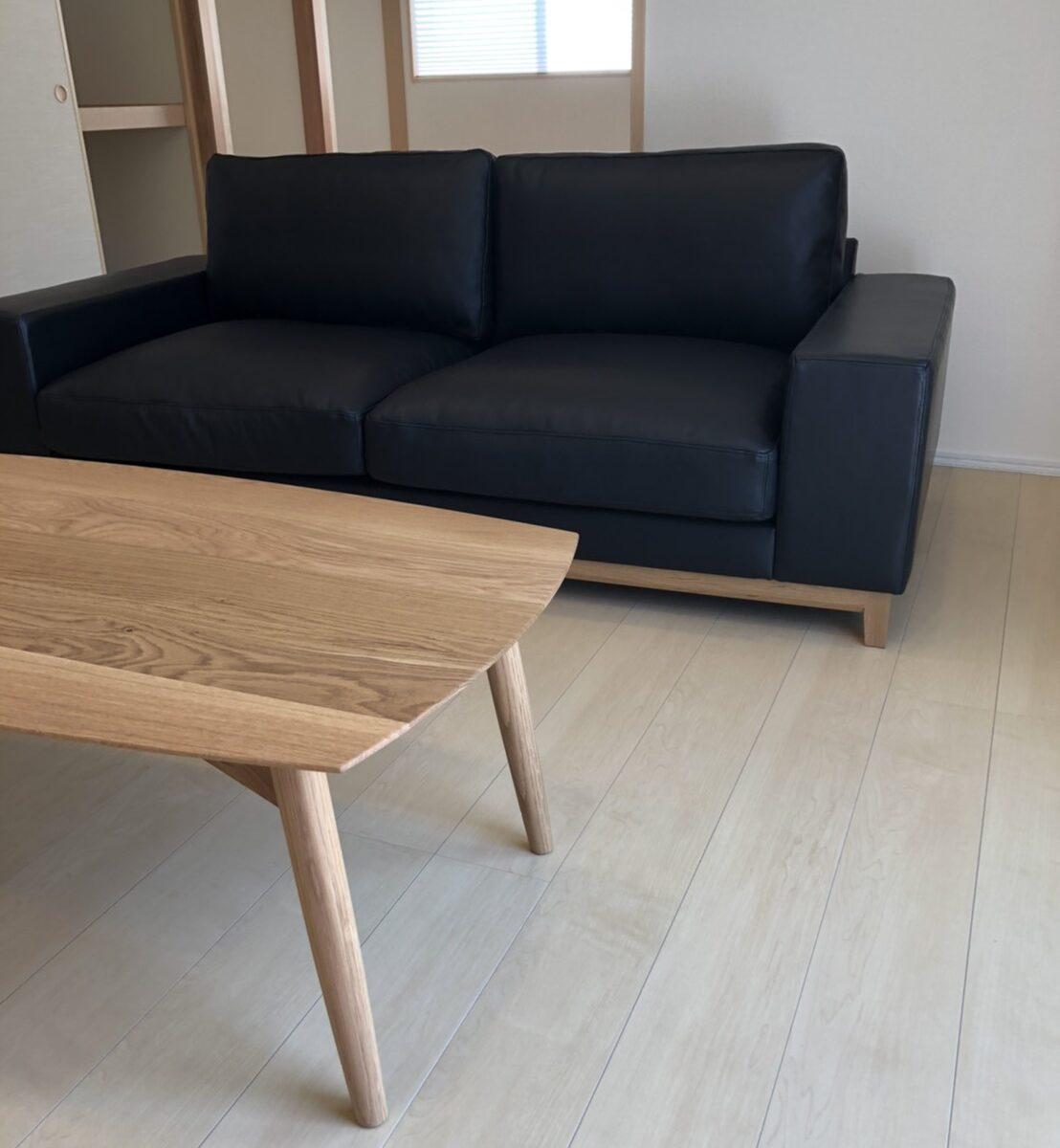 長崎県 Y様のコーディネート ballena table 1400(特注) + ballena chair + cabo low table + FLOW 2p