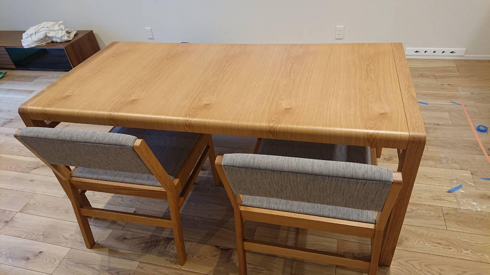 長崎県 K様のコーディネート|ballena dining bench set + FLOW 3p
